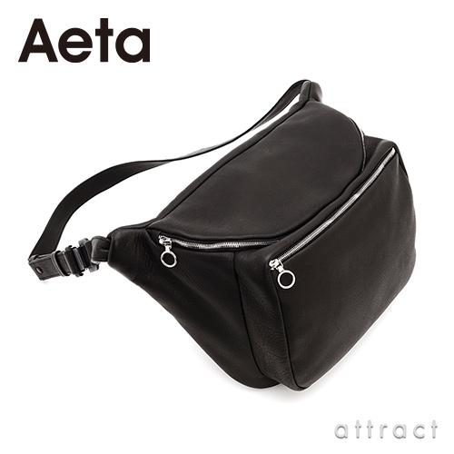 Aeta アエタ DEER LEATHER WAIST POUCH レザーウエストポーチ DA12 Mサイズ