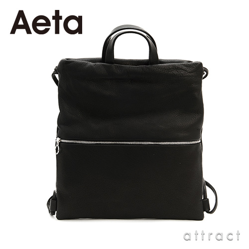 Aeta アエタ DEER LEATHER SHOULDER RUCKSACK レザーショルダーリュックサック DA49