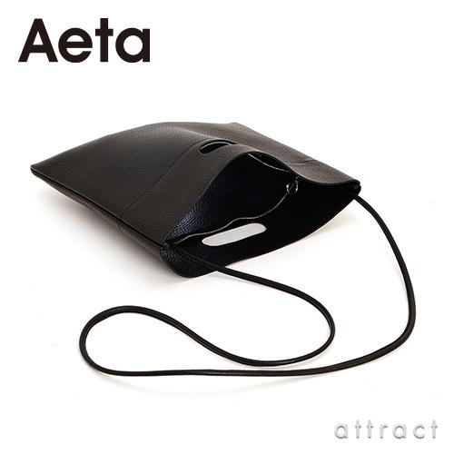 Aeta アエタ PG LEATHER FLAT SHOULDER レザーフラットショルダー PG09