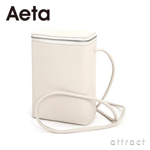 Aeta アエタ PG LEATHER BOX SHOULDER レザーボックスショルダー PG24 Sサイズ