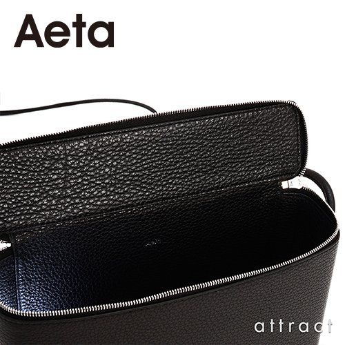 Aeta アエタ PG LEATHER BOX SHOULDER レザーボックスショルダー PG25 Mサイズ