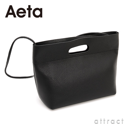 Aeta アエタ PG LEATHER SHOULDER レザーショルダー PG34 Mサイズ