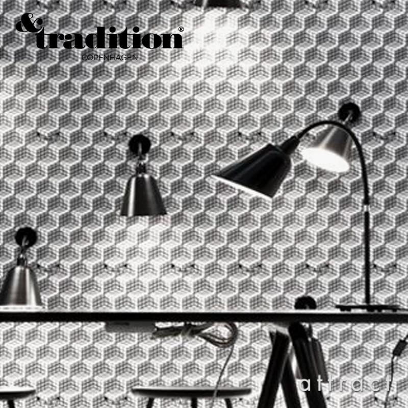 &Tradition アンドトラディション BELLEVUE TABLE LAMP AJ8 ベルビュー テーブル ランプ カラー:ブラック デザイン:アルネ・ヤコブセン