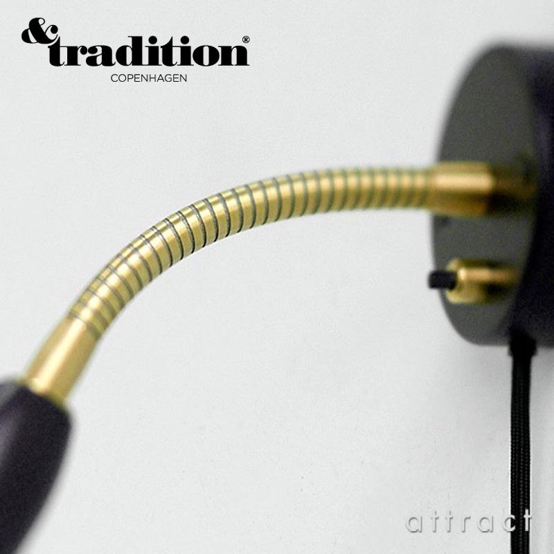 &Tradition アンドトラディション BELLEVUE WALL LAMP AJ9 ベルビュー ウォール ランプ カラー:ブラック デザイン:アルネ・ヤコブセン
