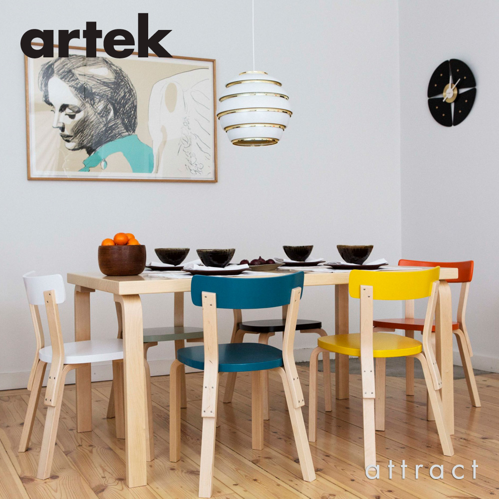 Artek アルテック TABLE 83 テーブル 83 サイズ:182×91cm 厚み 5cm デザイン:アルヴァ・アアルト