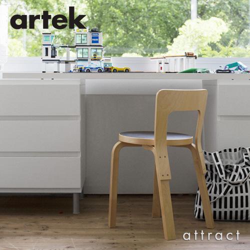 Artek アルテック CHAIR 65 チェア 65 バーチ材 座面 (バーチ) 脚部 (クリアラッカー仕上げ) デザイン:アルヴァ・アアルト