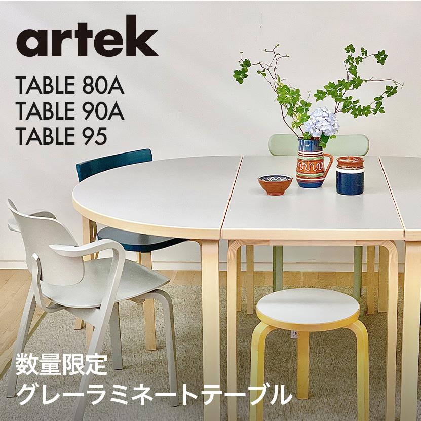 Artek Gray Laminate Table