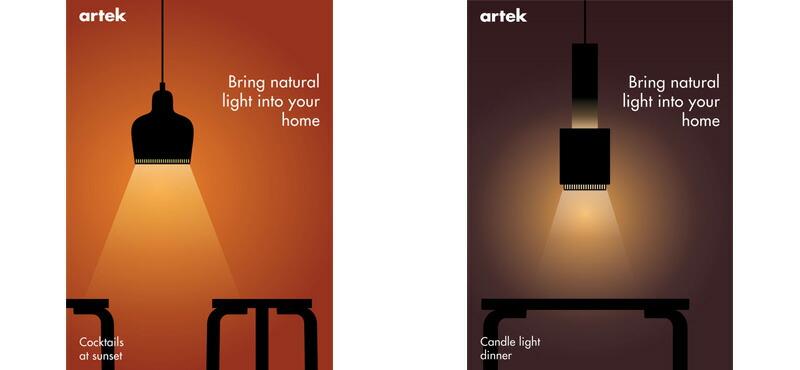 Artek Lighting Campaign 2021