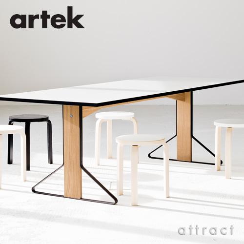Artek アルテック KAARI TABLE カアリテーブル REB003 サイズ:Φ80cm 厚み2.4cm 天板(ブラックリノリウム・ライトグレーリノリウム) 脚部(ナチュラルオーク) デザイン:ロナン&エルワン・ブルレック