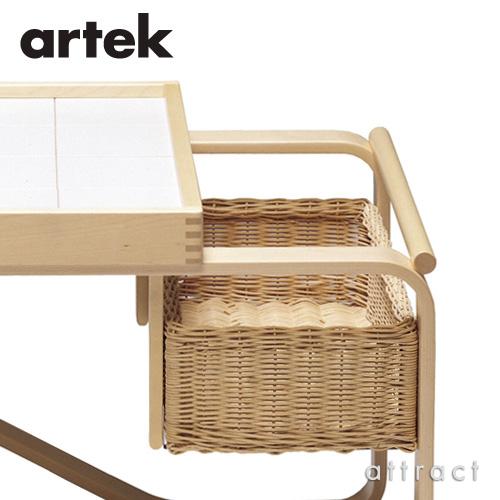Artek アルテック TEA TROLLEY 900 ティートローリー900 バーチ材 クリアラッカー仕上げ カラー:ブラック・ホワイト デザイン:アルヴァ・アアルト