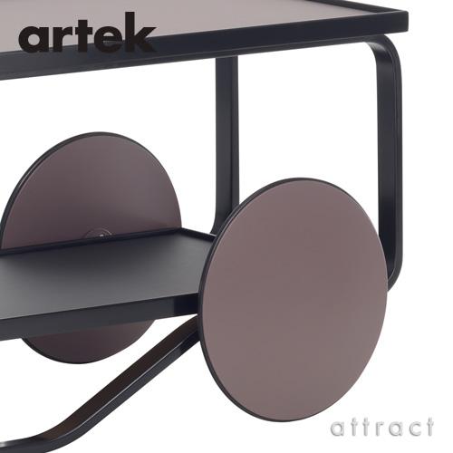Artek アルテック TEA TROLLEY 901 ティートローリー901 バーチ材 クリアラッカー仕上げ カラー:ピート(ヘラ・ヨンゲリウスモデル) デザイン:アルヴァ・アアルト