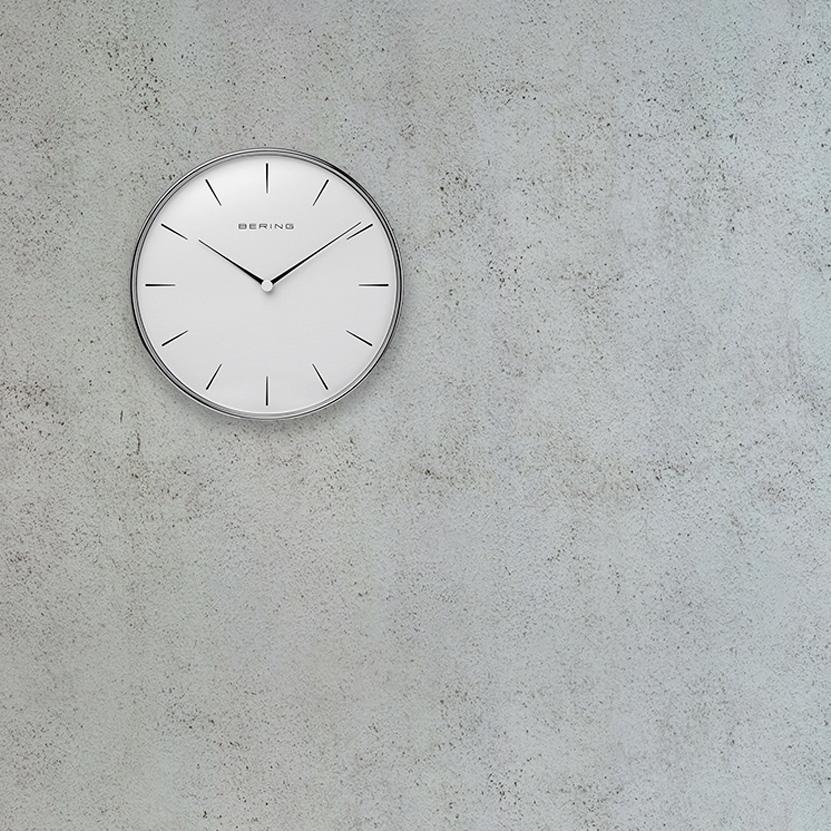 BERING ベーリング Wall Clock ウォールクロック 壁掛け時計 Φ160mm カラー:2色