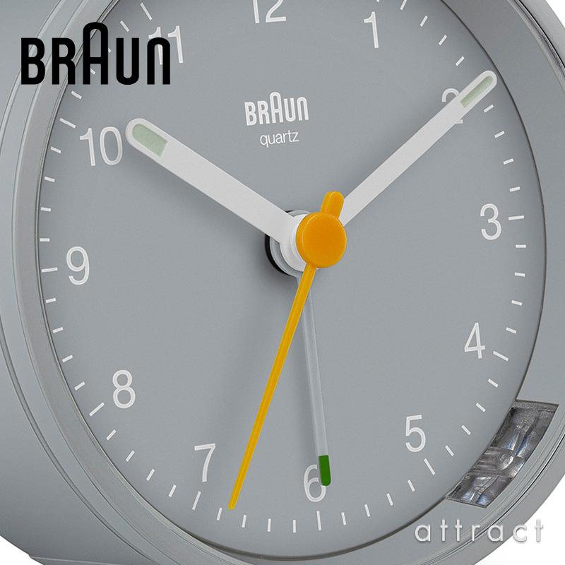 【数量限定グレーカラー】BRAUN ブラウン 100周年記念 アラームクロック デジタル時計(BC09G) アナログ時計(BC12G) 置時計 目覚まし時計