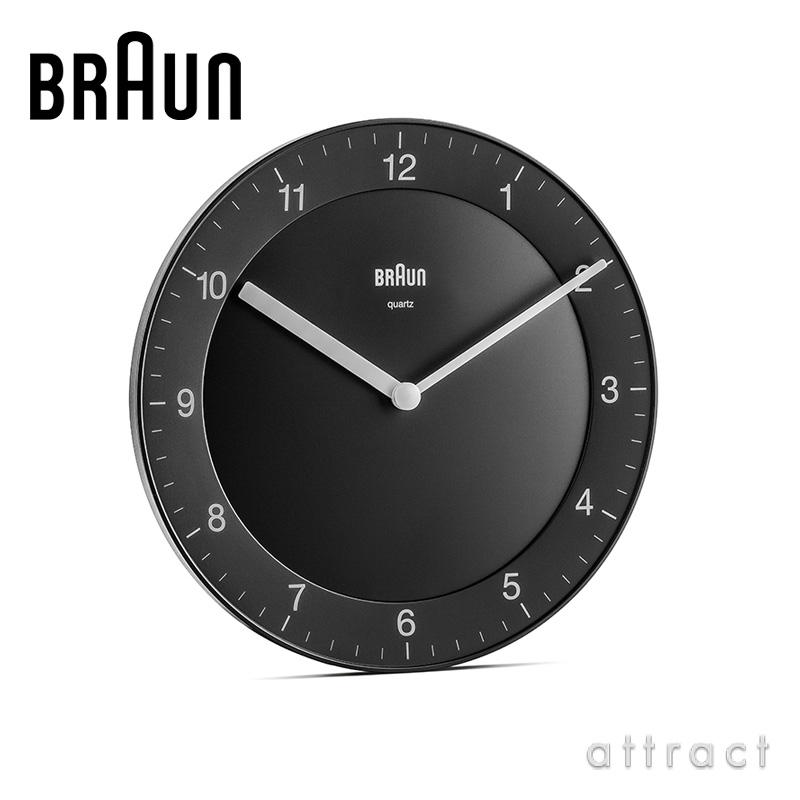 BRAUN ブラウン Wall Clock ウォールクロック BC06 カラー:2色 デザイン:デートリッヒ・ルブス