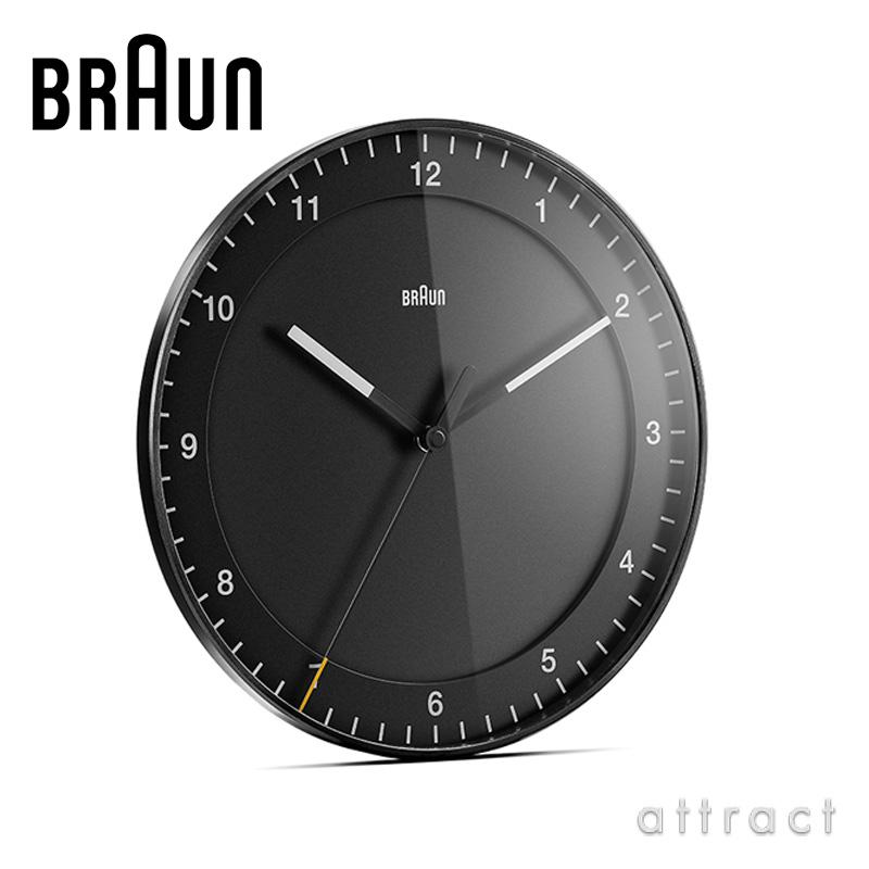 BRAUN ブラウン Wall Clock ウォールクロック BC17 カラー:2色 デザイン:デートリッヒ・ルブス
