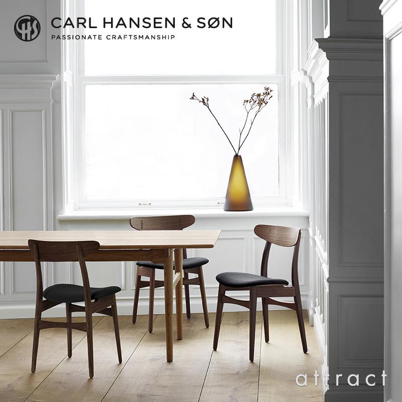 Carl Hansen & Son カールハンセン&サン CH30 アームレスチェア オーク (オイルフィニッシュ) 座:レザー(Thor ) デザイン:ハンス・J・ウェグナー