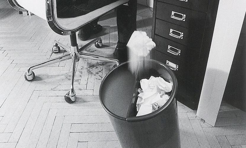 DANESE ダネーゼ In Attesa インアテッサ ダストボックス ゴミ箱 DE3095 デザイン:エンツォ・マリ ※分別収集用アタッチメント別売