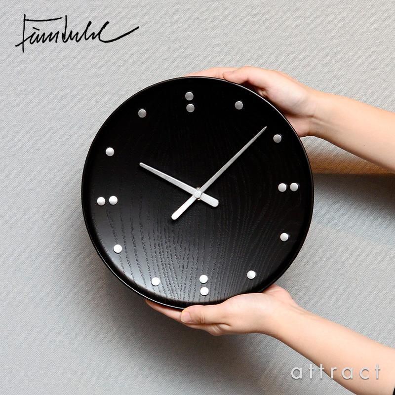 ARCHITECTMADE アーキテクトメイド Finn Juhl フィンユール FJ Clock Wall Clock ウォールクロック 掛時計 781 サイズ:Φ250mm カラー:ブラック デザイン:フィン・ユール