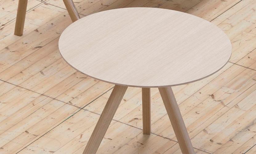 HAY ヘイ Copenhague コペンハーグ CPH 20 ラウンドテーブル Φ90cm カラー:6色 ベース:オーク(クリアラッカー仕上げ) デザイン:ロナン&エルワン・ブルレック