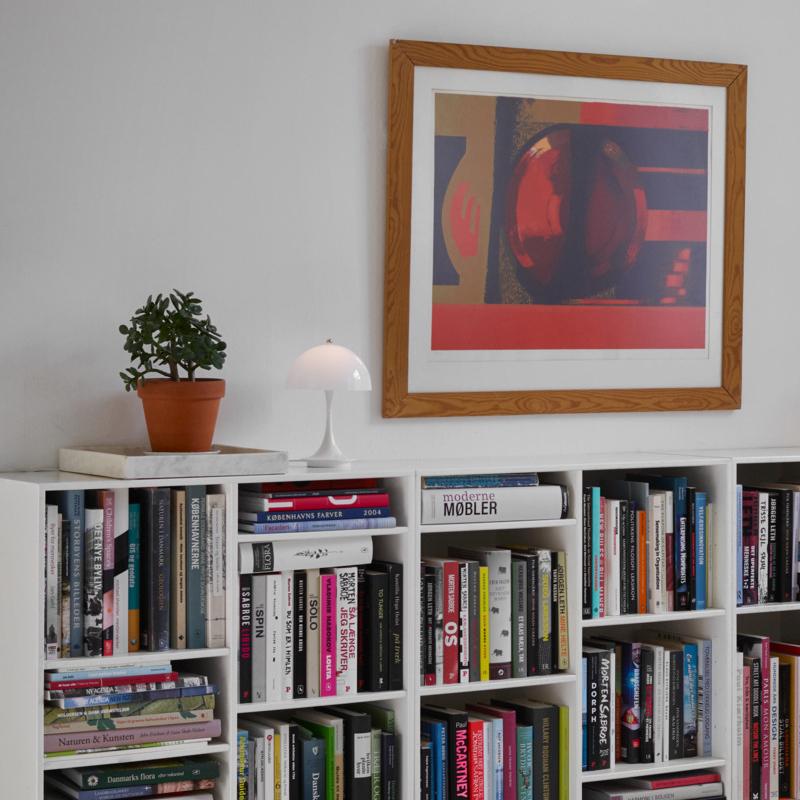 Louis Poulsen ルイスポールセン Panthella Portable パンテラ ポータブル テーブルランプ USB充電式 コードレス 調光式  組込LED カラー:ホワイト デザイン:ヴェルナー・パントン
