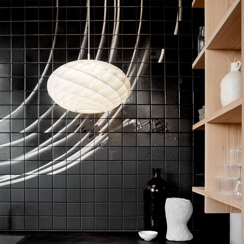 Louis Poulsen ルイスポールセン Patera Oval パテラ オーバル ペンダントライト 照明 Φ500 カラー:マット・ホワイト デザイン:オイヴァン・スラート