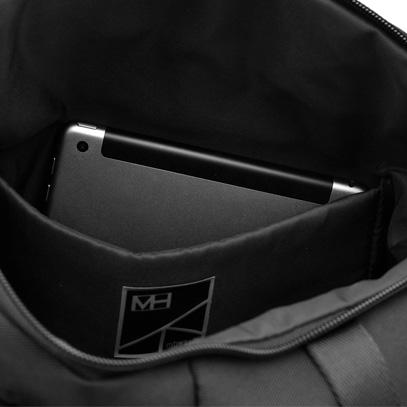 MH WAY エムエイチウェイ STONE TOTE ストーン トート トートバッグ MH-012 カラー:ブラック デザイン:ジョイア・ジョヴァンネッラ