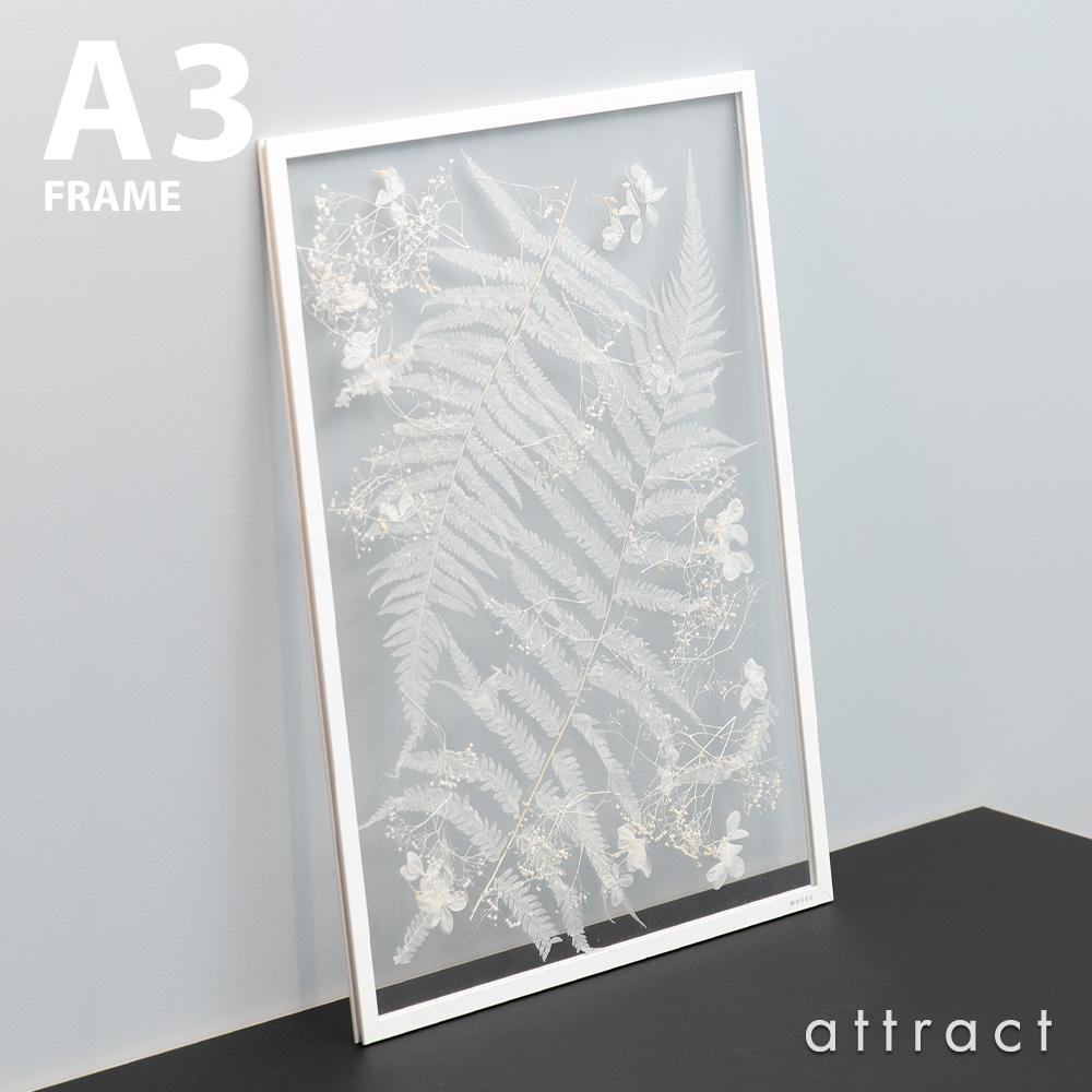 花水木 × attract LARGO コラボレーション MOEBE FRAME ムーベ フレーム フラワーアレンジメント フレームサイズ:A3