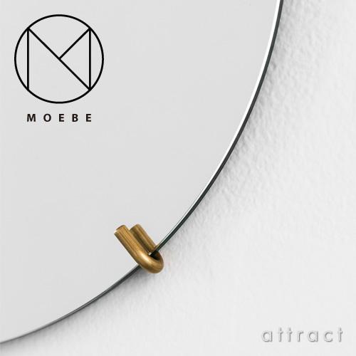 MOEBE ムーベ WALL MIRROR ウォールミラー 壁掛け鏡 Φ50cm カラー:3色