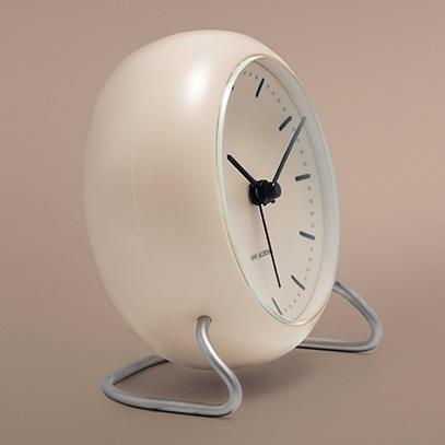 Arne Jacobsen アルネ・ヤコブセン CITY HALL シティーホール テーブルクロック Φ110mm カラー:全3色
