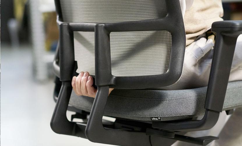 vitra am chair 2d. Black Bedroom Furniture Sets. Home Design Ideas