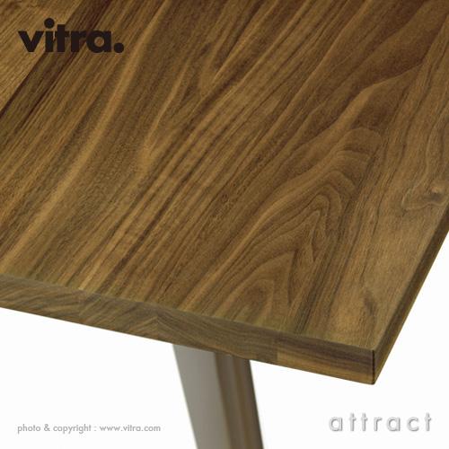 Vitra ヴィトラ EM Table イーエムテーブル サイズ:180cm 天板:アメリカンウォールナット オイル仕上げ ベースカラー:2色 デザイン:ジャン・プルーヴェ
