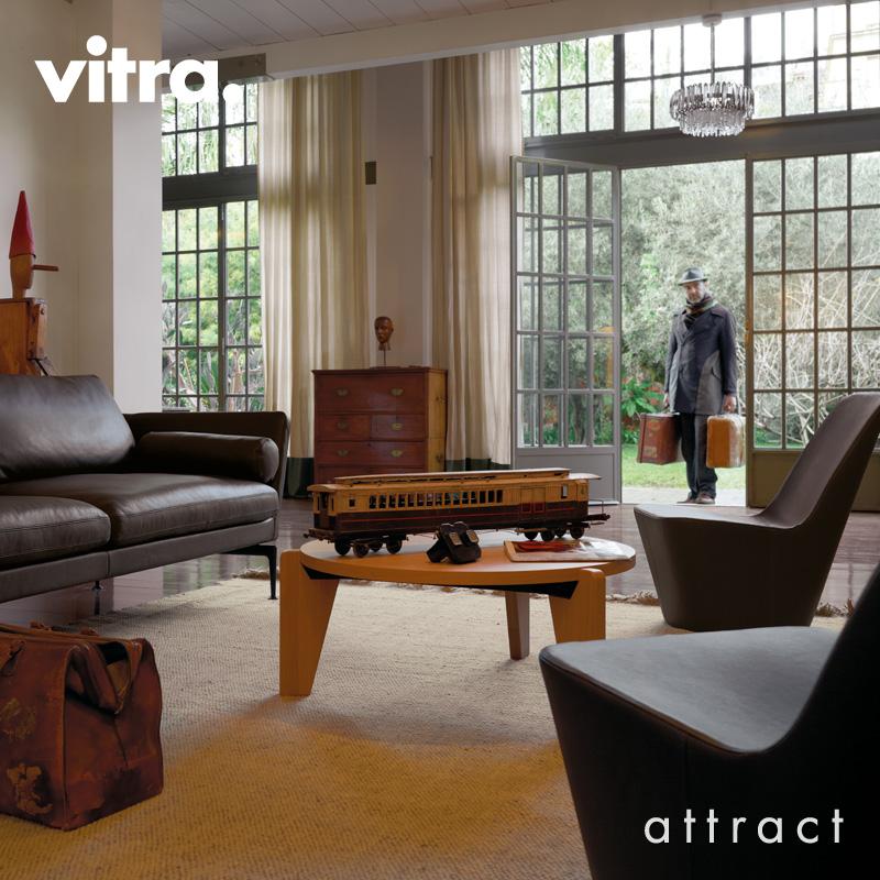 Vitra ヴィトラ Gueridon Bas ゲリドン バス Φ79cm コーヒーテーブル デザイン:ジャン・プルーヴェ