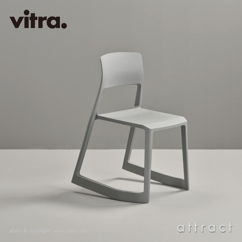 Vitra ヴィトラ Tip Ton RE ティプ トン リ スタッキングチェア カラー:ダークグレー RE デザイン:バーバー・オズガビー