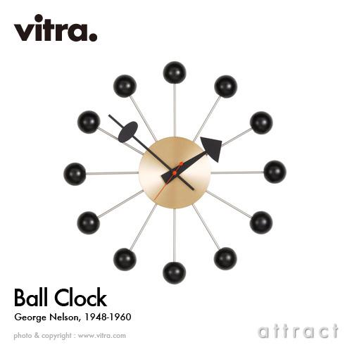 Vitra ヴィトラ Ball Clock ボールクロック Wall Clock ウォールクロック カラー:6色 デザイン:ジョージ・ネルソン