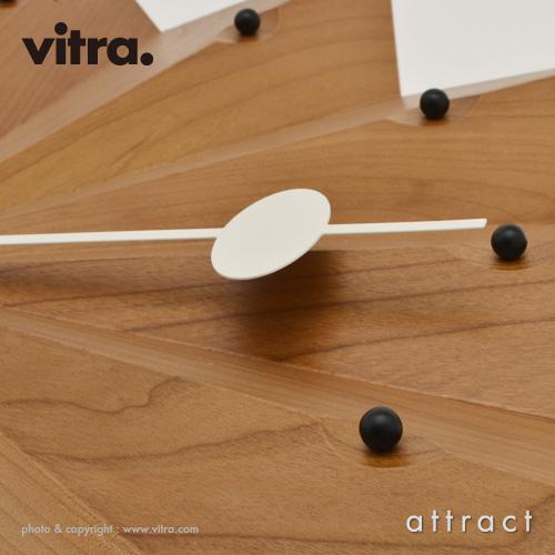 Vitra ヴィトラ Fan Clock ファン クロック Wall Clock ウォールクロック カラー:アメリカンチェリー デザイン:ジョージ・ネルソン