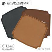 Carl Hansen & Son カールハンセン&サン CH24C Yチェア用 両面レザークッション Loke ロキ ピグメントレザー カラー:3色