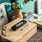 Vitra ヴィトラ Caran d'Ache 849 カランダッシュ 849 ボールペン オリジナルケース付き インク:ブルー カラー:2色 デザイン:アレキサンダー・ジラード