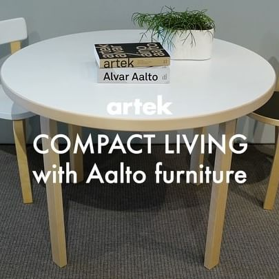 COMPACT LIVING with Aalto furniture