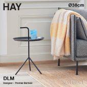 HAY ヘイ DLM サイドテーブル Don't Leave Me Φ38cm