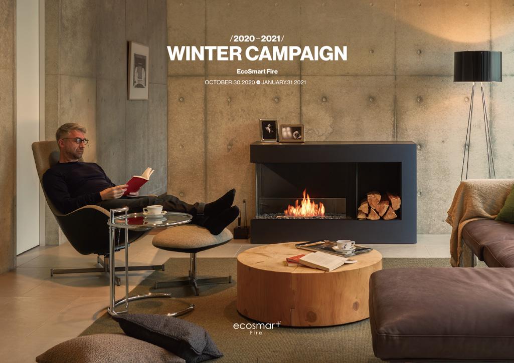 ecosmartfire WINTER CAMPAIGN 2020-2021