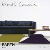 Katsuki Connection カツキ コネクション Rug ラグ COLLAGE コラージュコレクション EARTH アース ウールラグ 非ミュージングウール デザイン:香月 裕子