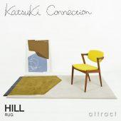 Katsuki Connection カツキ コネクション Rug ラグ COLLAGE コラージュコレクション HILL ヒル ウールラグ 非ミュージングウール デザイン:香月 裕子