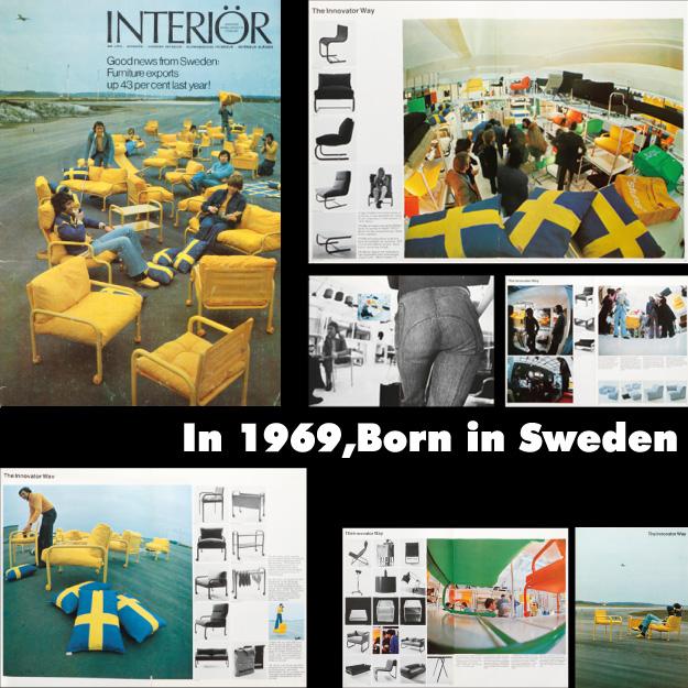 """""""スウェーデン""""生まれの家具「innovator(イノベーター)」"""