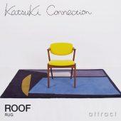 Katsuki Connection カツキ コネクション Rug ラグ COLLAGE コラージュコレクション ROOF ルーフ ウールラグ 非ミュージングウール デザイン:香月 裕子