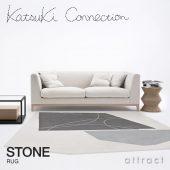 Katsuki Connection カツキ コネクション Rug ラグ COLLAGE コラージュコレクション STONE ストーン ウールラグ 非ミュージングウール デザイン:香月 裕子