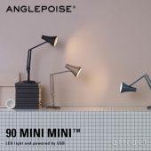 ANGLEPOISE アングルポイズ 90 Mini Mini 90 ミニミニ ミニテーブルランプ デスクランプ カラー:3色 デザイン:ケネス・グランジ