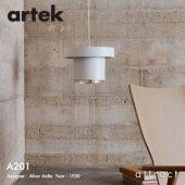 Artek アルテック A201 PENDANT LAMP ペンダントランプ カラー:ホワイト デザイン:アルヴァ・アアルト