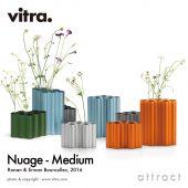 Vitra ヴィトラ Nuage Metallic ヌアージュ メタリック ミディアムサイズ フラワーベース カラー:5色 デザイン:ロナン&エルワン・ブルレック