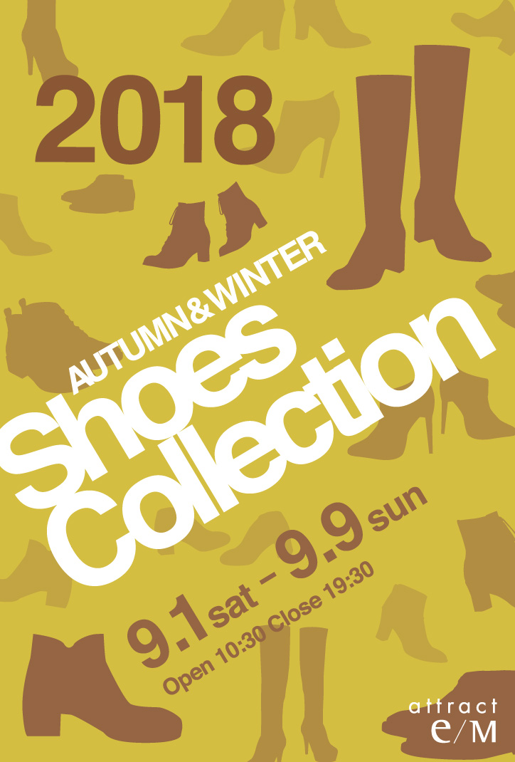 Shoes Collection 2018 AUTUMN & WINTER